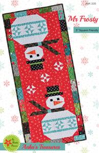 Image of Mr  Frosty Paper Pattern