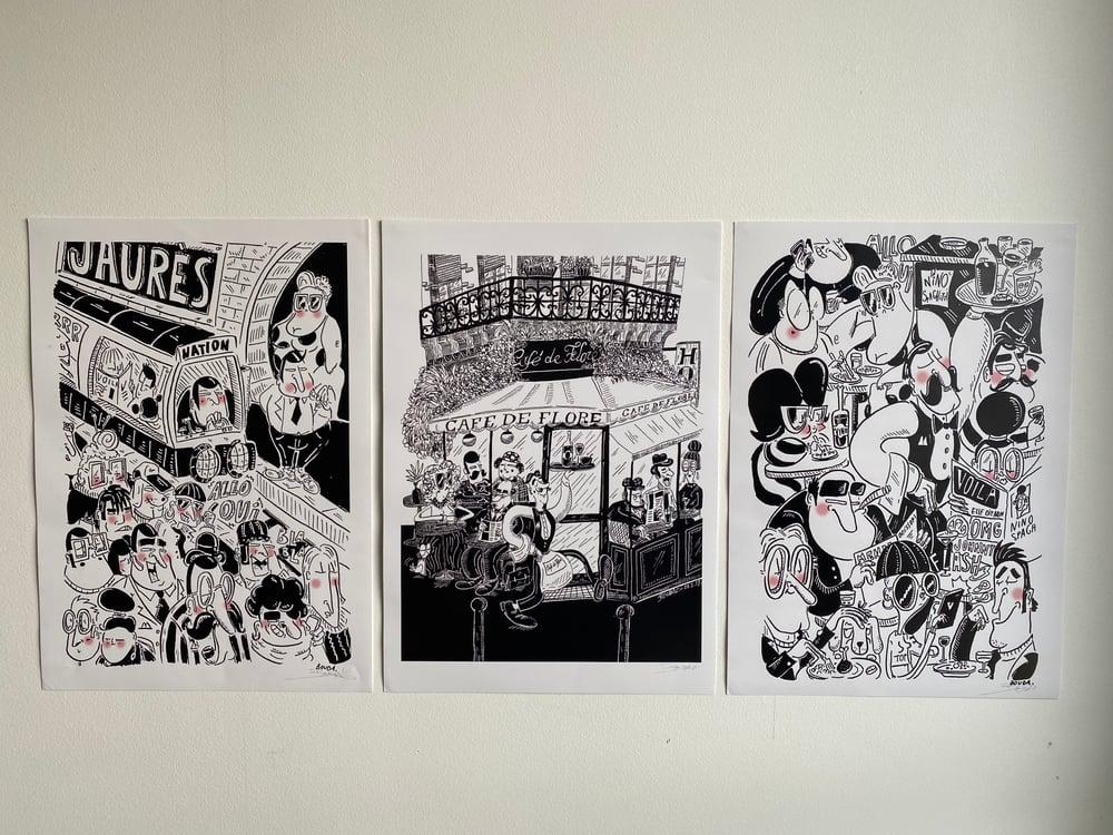 """""""Jaurès"""" par Bouda X Urban Art Paris"""