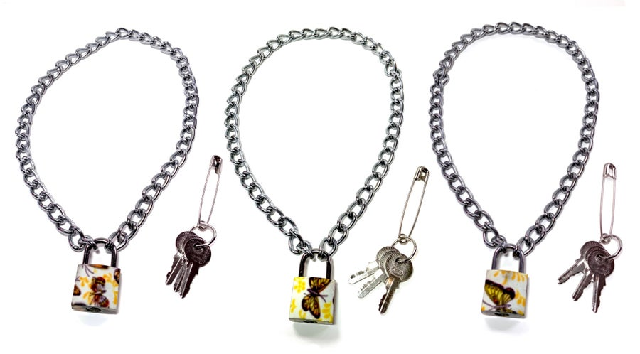 Image of Mini Butterfly Padlock