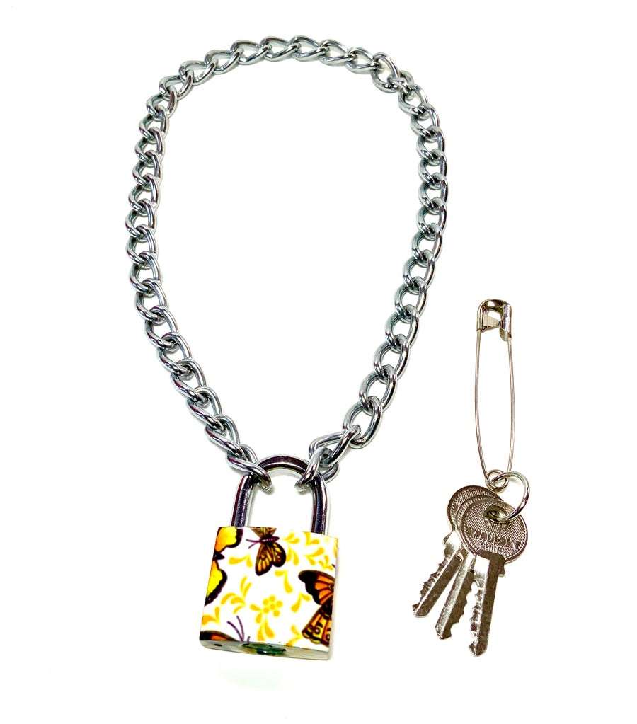Image of Large Butterfly Padlock