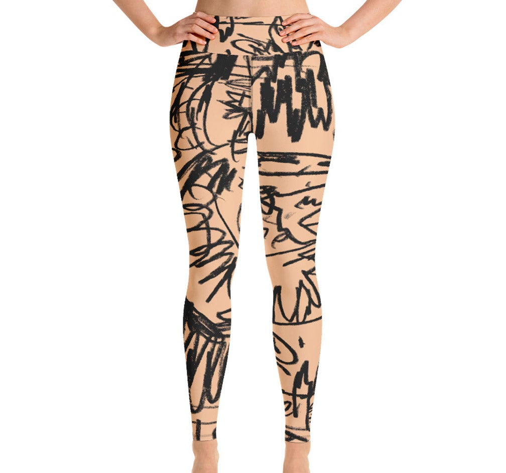 Image of NEW! Untitled Sketch #2 Leggings