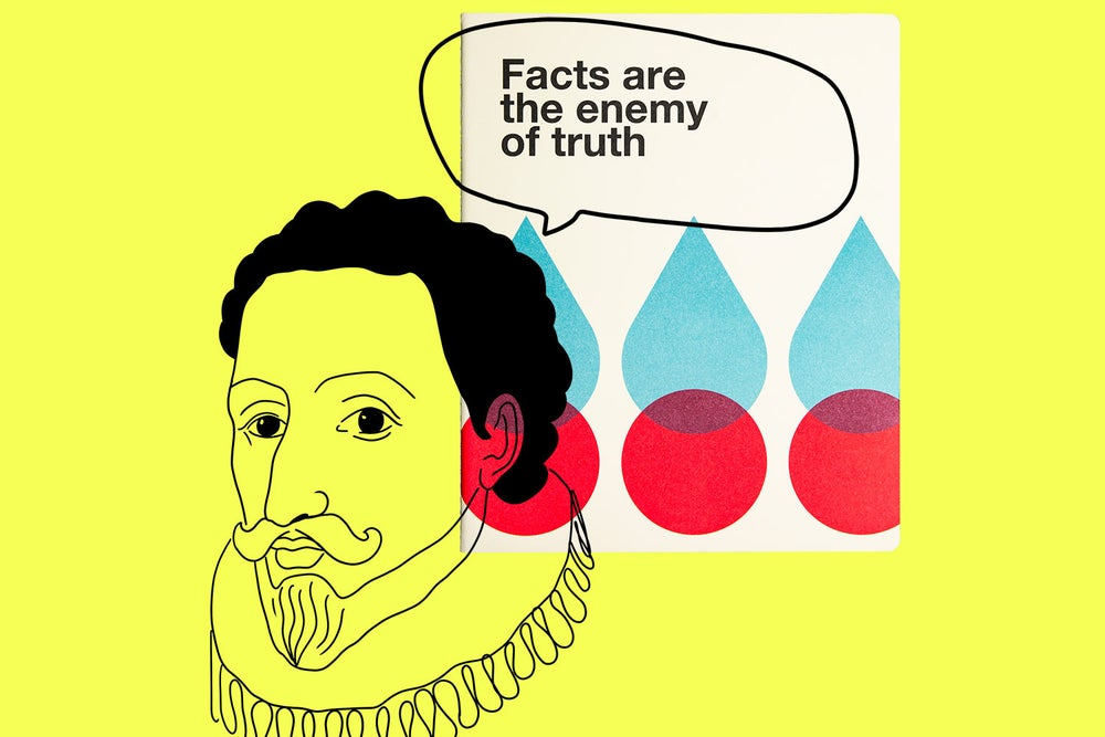 Image of Fact are the enemy of truth - OGAMI