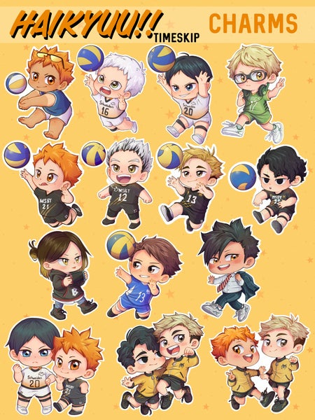 Image of Haikyuu!! Time Skip Charms