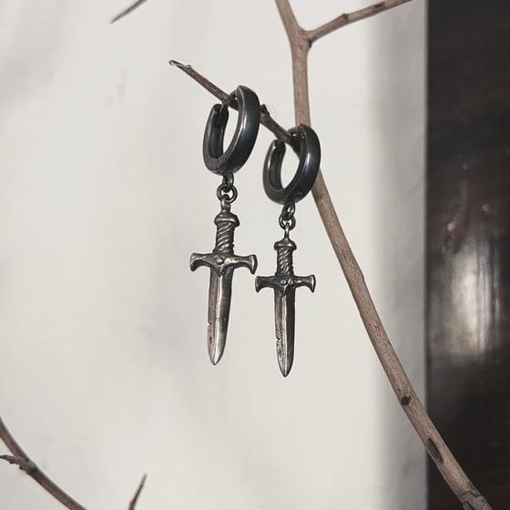 Image of Dagger Earrings