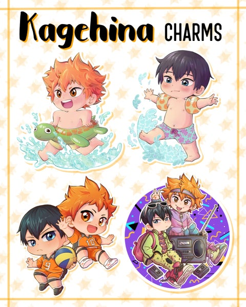 Image of Kagehina Charms