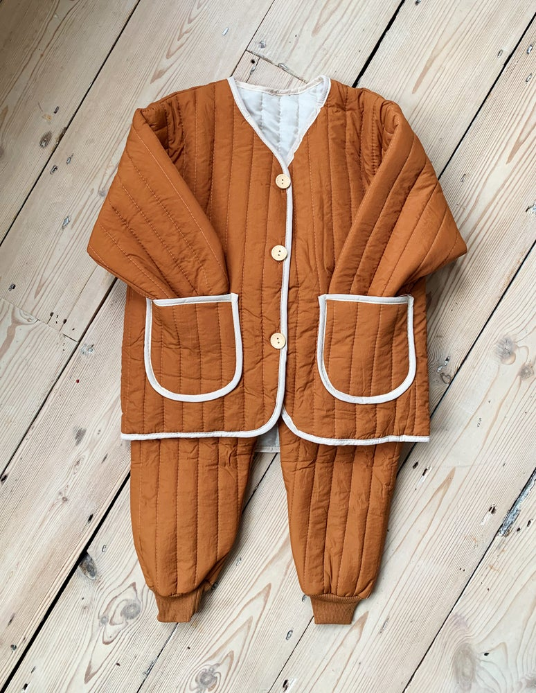 Image of THE FAITH TRACKSUIT - CARAMEL
