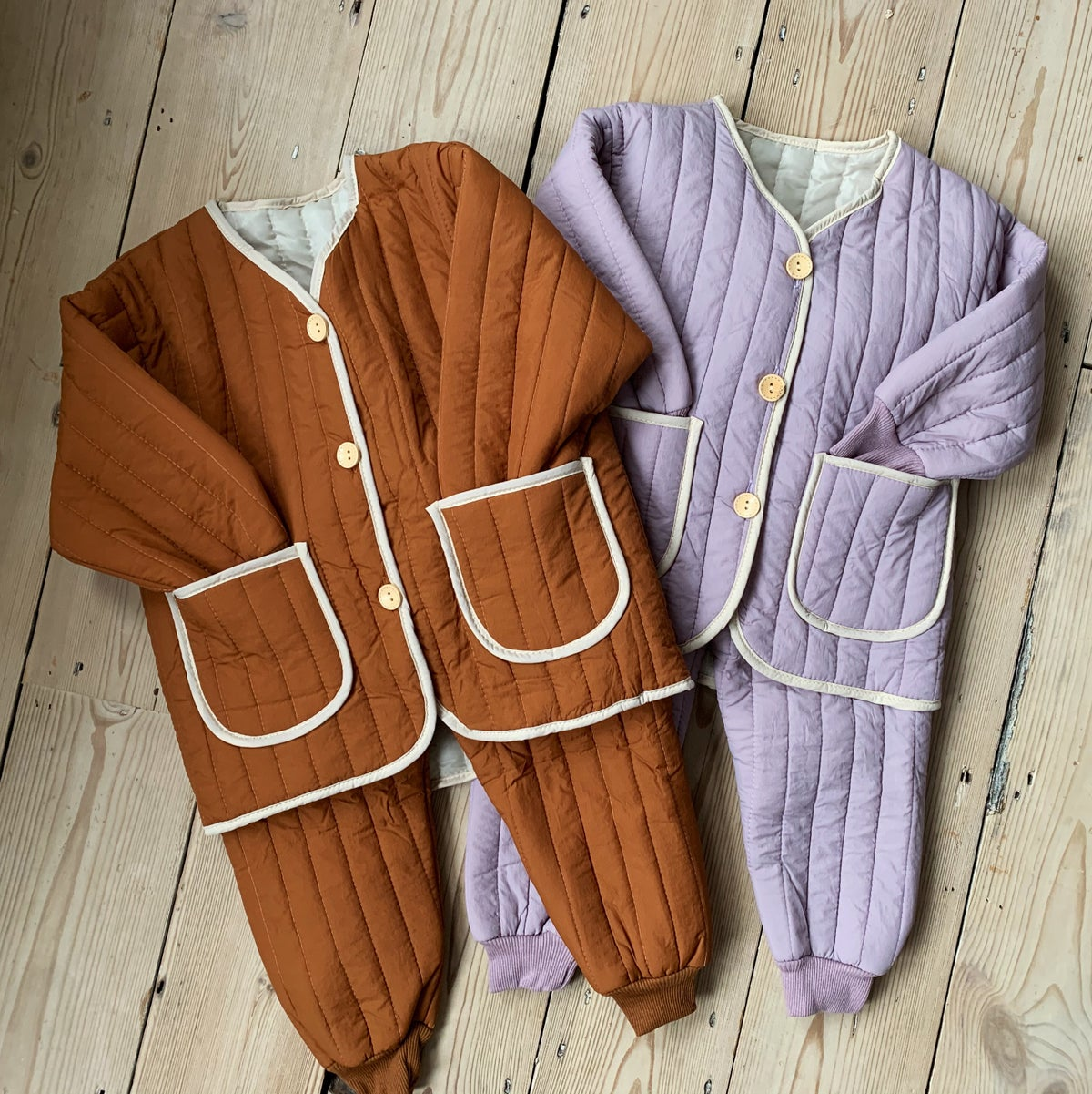Image of THE FAITH TRACKSUIT - LILAC