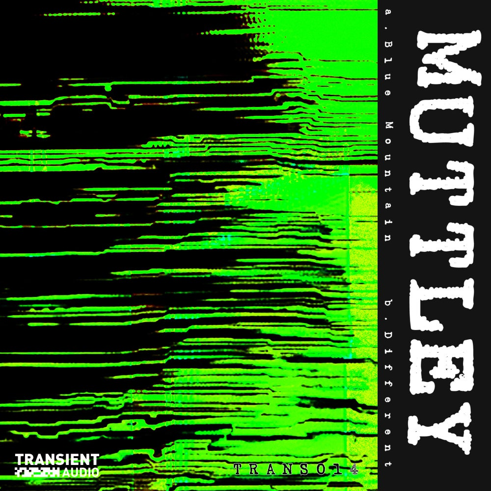 """Muttley - Blue Mountain / Different [Transient Audio 014] [10""""]"""