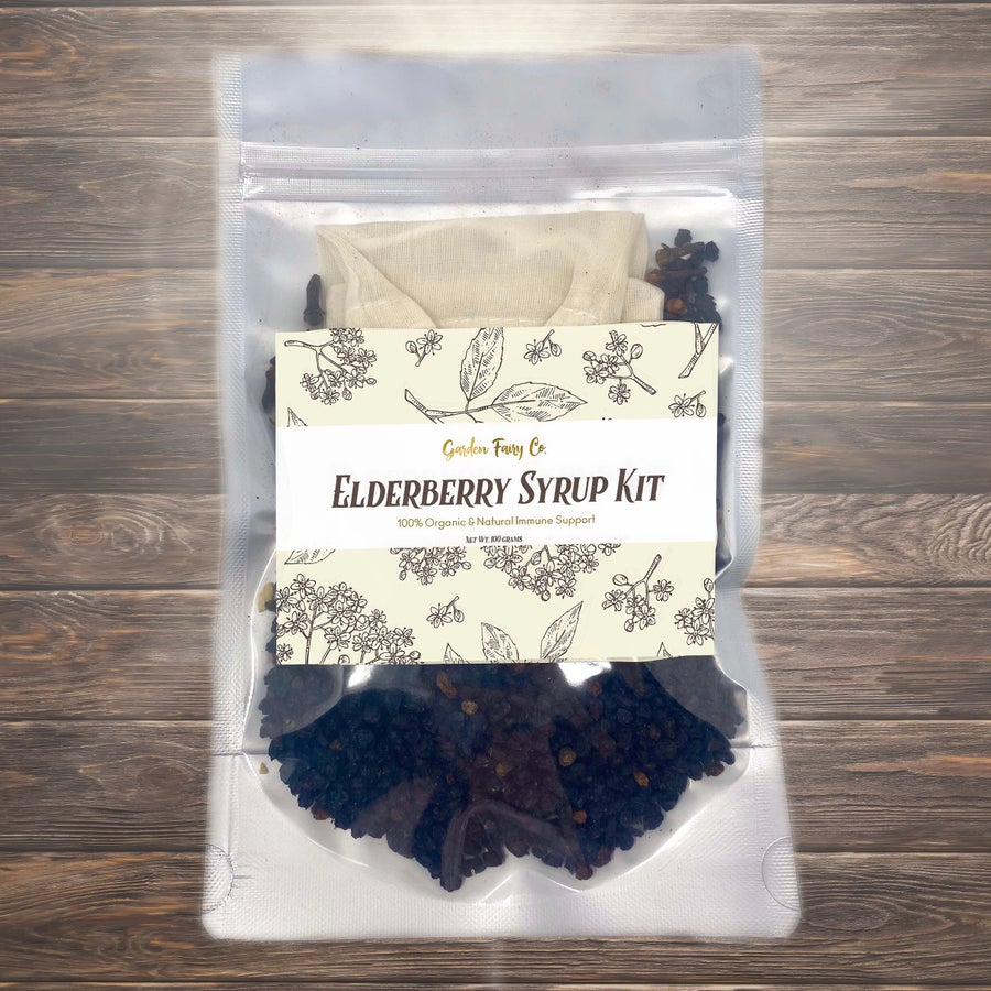 Image of Elderberry Syrup Kit + Free Herbalism Goodies