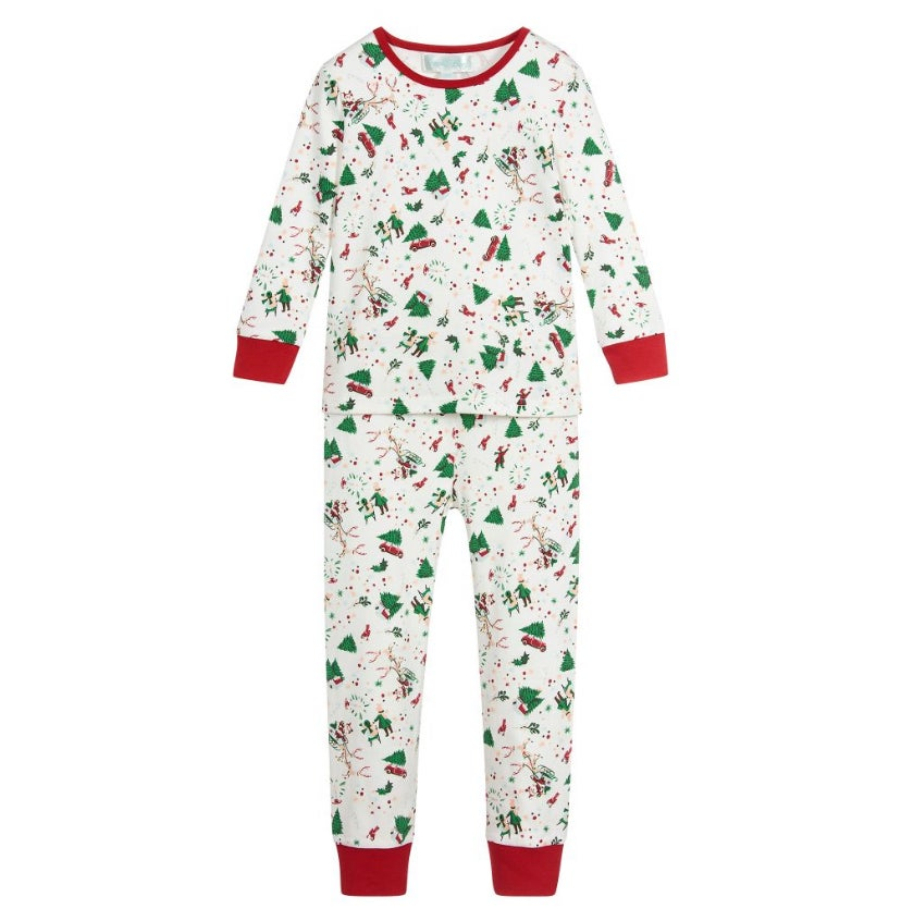 Image of Holly Cozy Knit Pyjamas