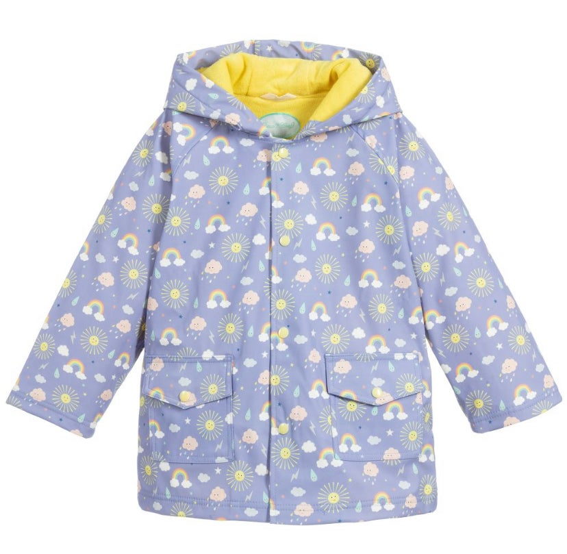 Image of Sunshine Raincoat (can be personalised)