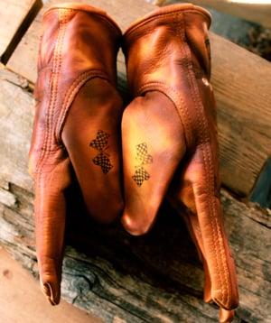 Image of Crocker Moto Co. Custom leather gloves
