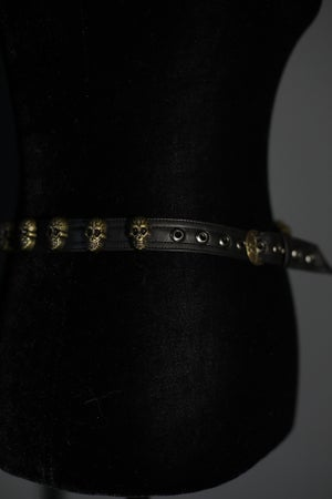 Image of Brass Sacred Skull Belt