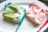 Two Soaps in a Sack-Handmade Gift Set-(Monogram option) Hand-dyed Sack-Choice of any $7 or less Soap