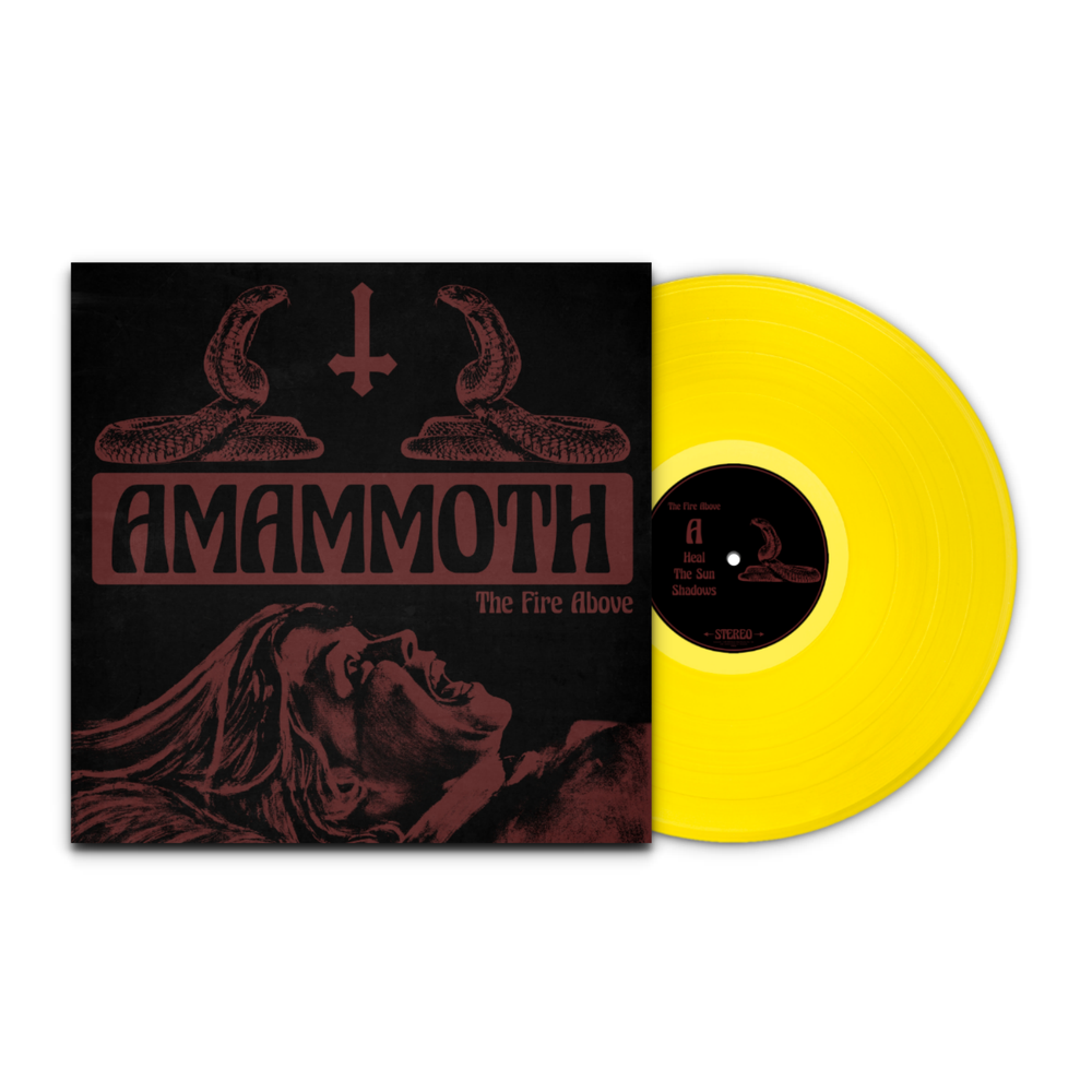 Image of Amammoth - The Fire Above LTD Transparent Yellow Vinyl