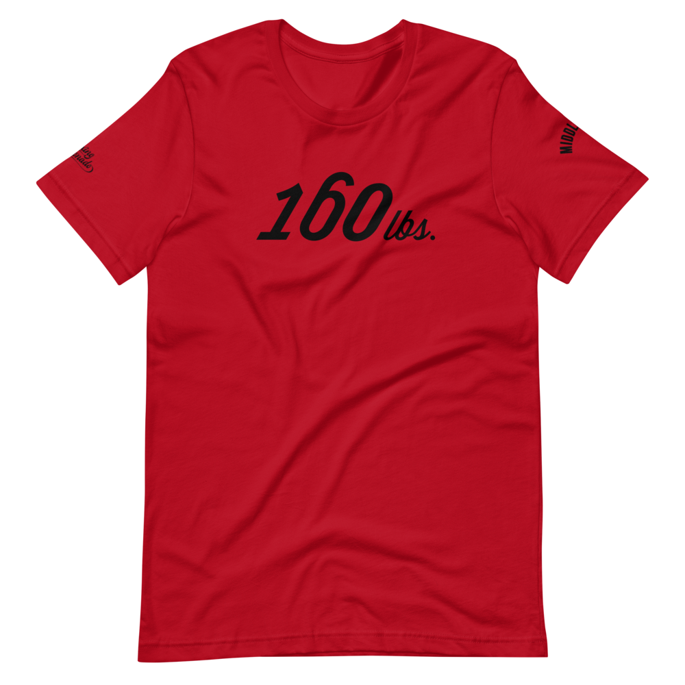 160 lbs | Middleweight T-Shirt (3 Colors)