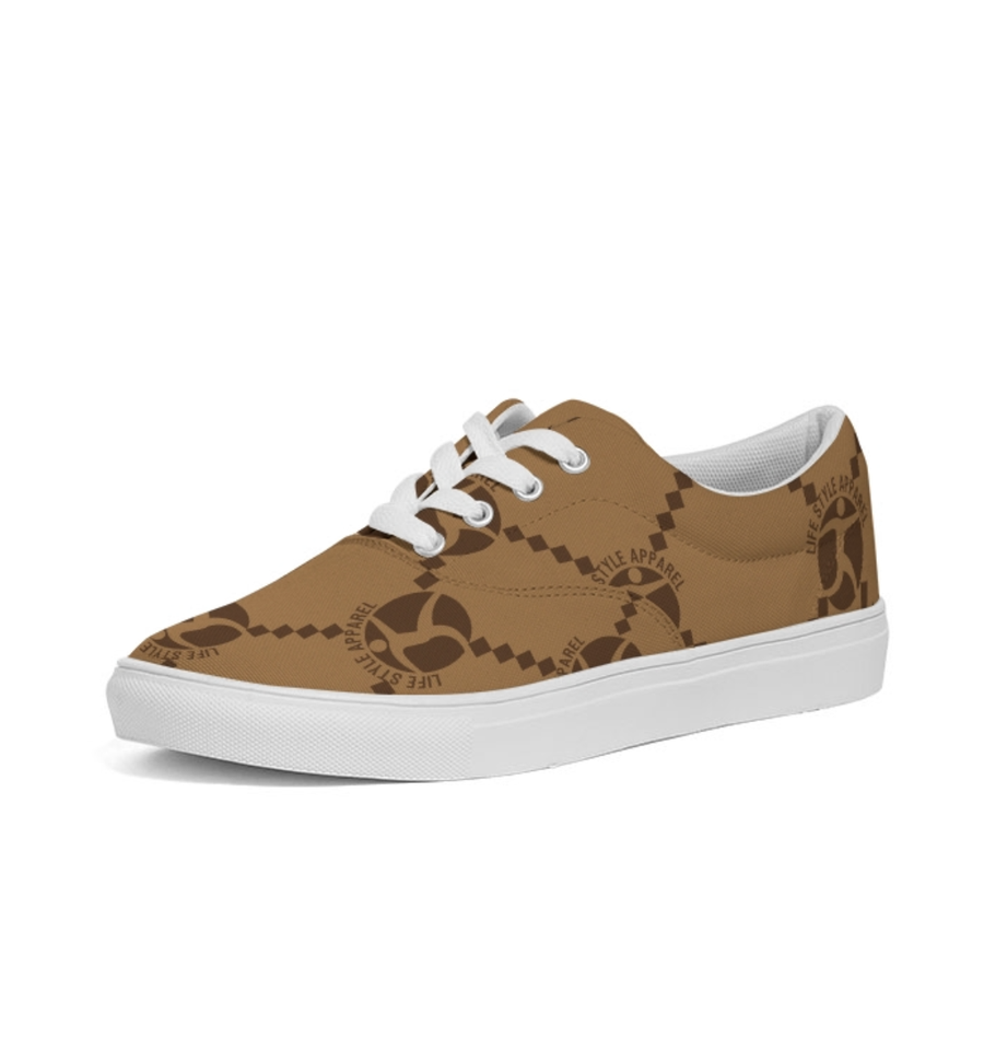Image of NEW MEN TAN LOGO SNEAKERS