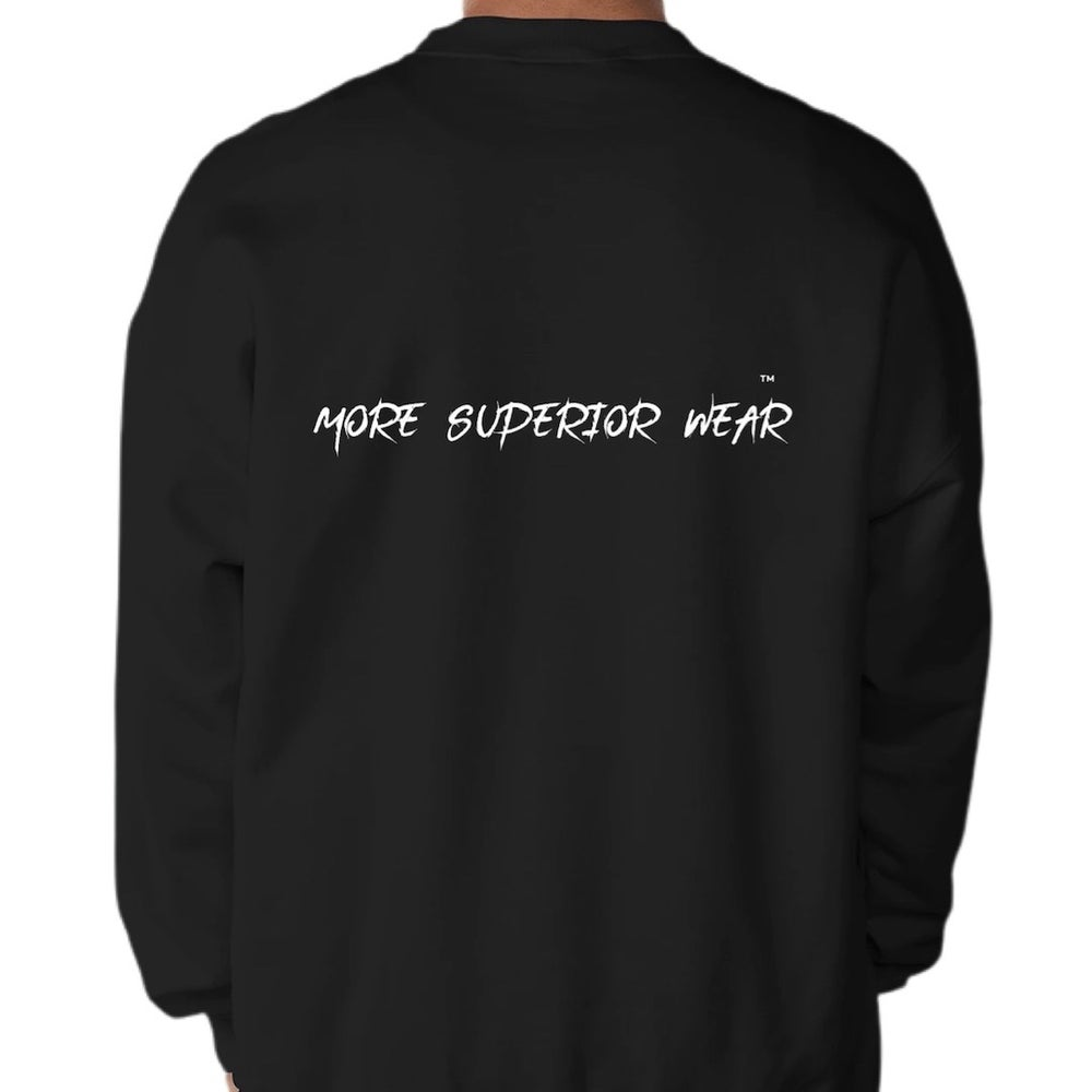 More Superior Wear double print logo sweatshirt