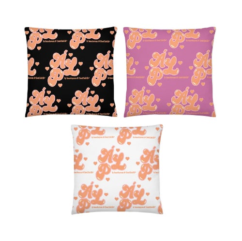 Image of A Lover's Paradise Pillow (Pink)