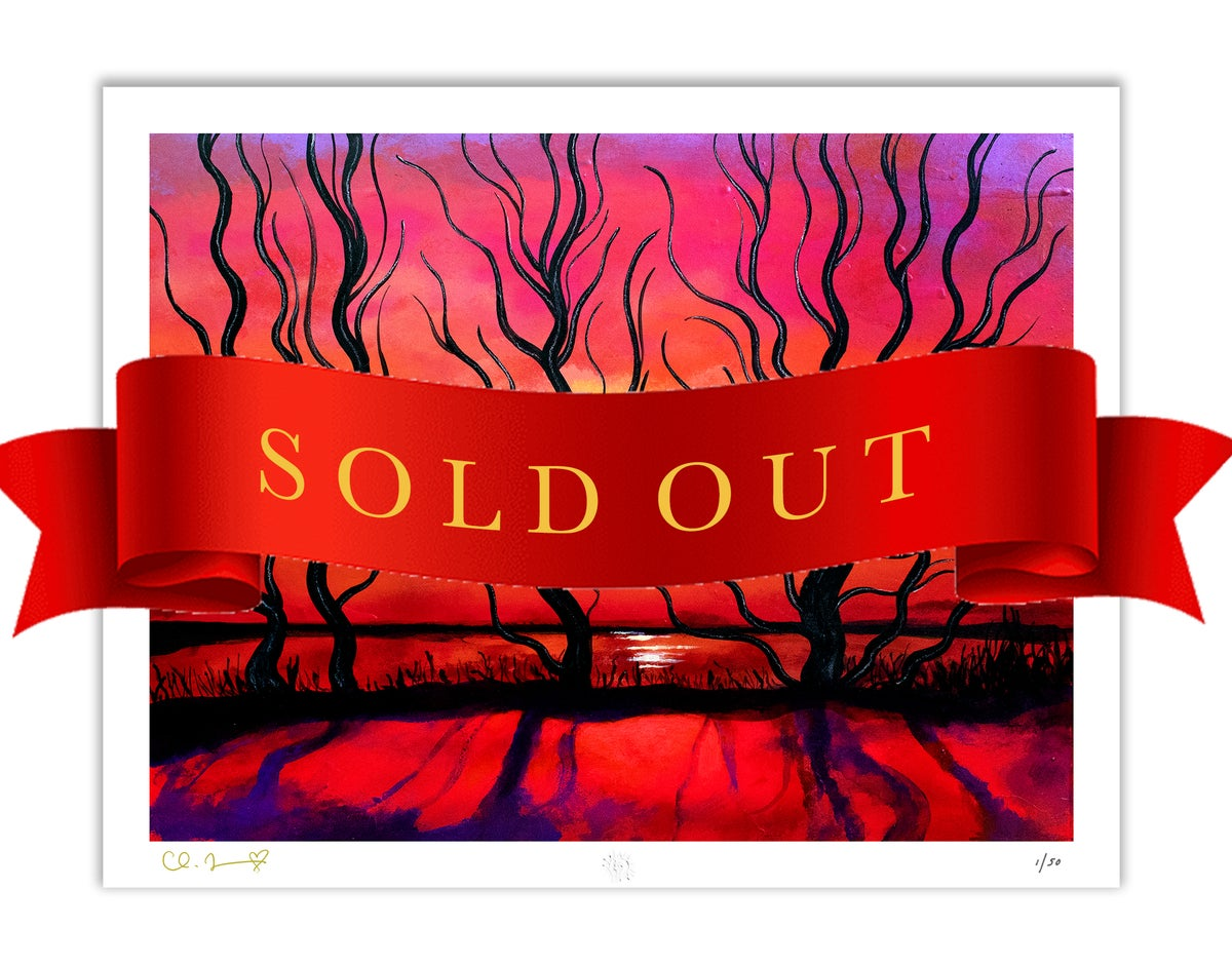 """Image of """"Waiting For The Sun"""" Limited Edition Giclee Fine Art Print (edition of 50)"""