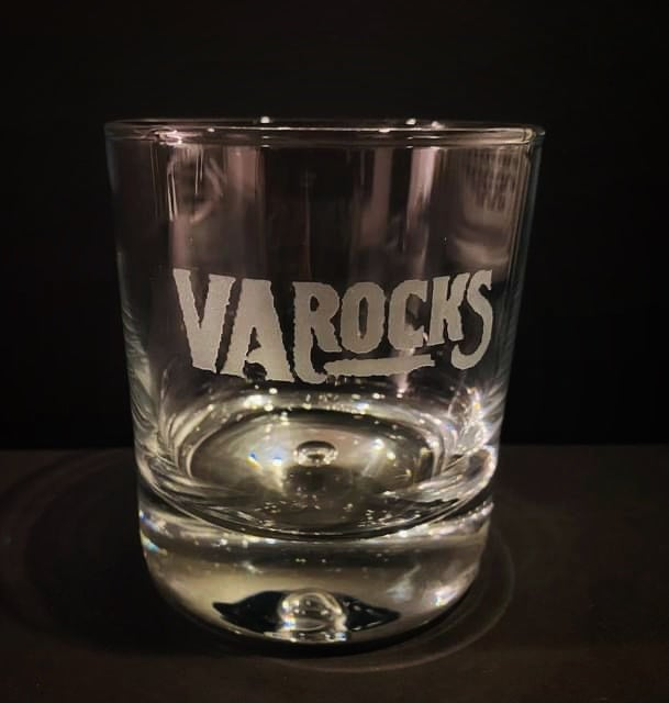 Image of VA ROCKS WHISKEY GLASS