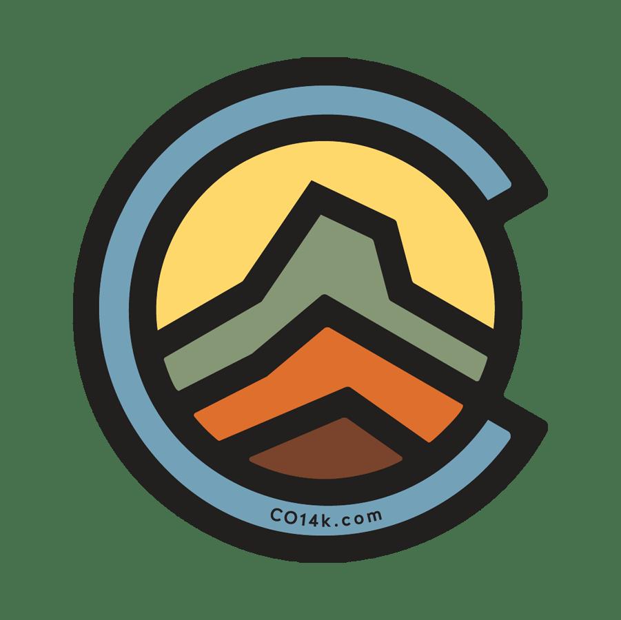 Image of CO14k Logo Sticker