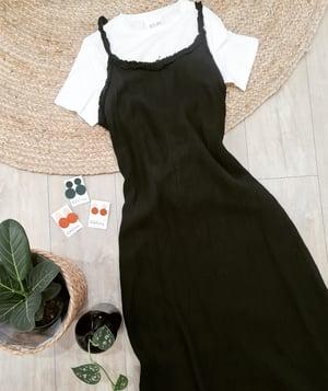 Image of Raffaela Maxi Linen Dress. Italian Linen.