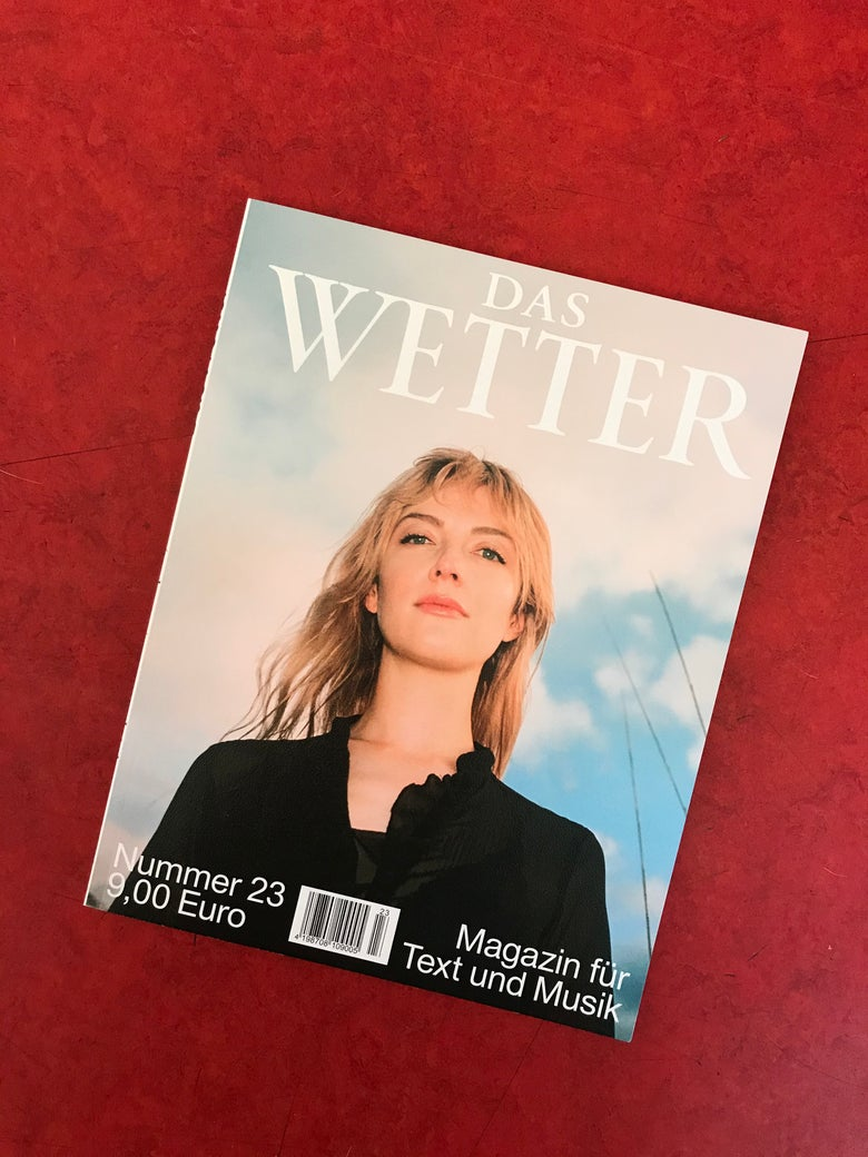 Image of DAS WETTER NR. 23 / COVER 4