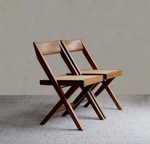 Image of Pierre Jeanneret reproduction Chandigarh Library Chair