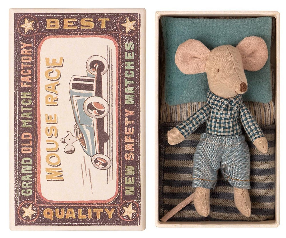 Image of Maileg - Little Brother Mouse in box