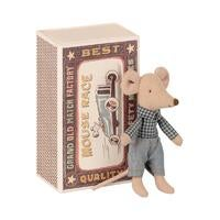 Image of Maileg - Little Brother Mouse in box (Pre- order)
