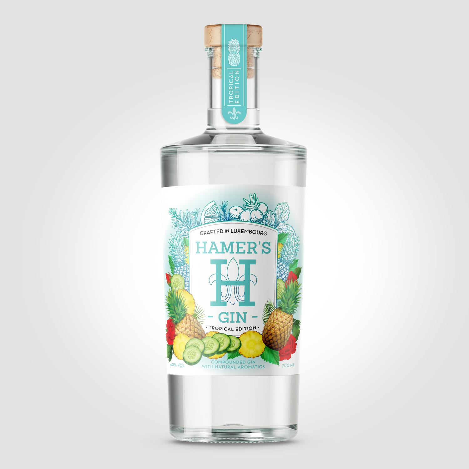 Image of Hamer's Gin - Tropical Edition -