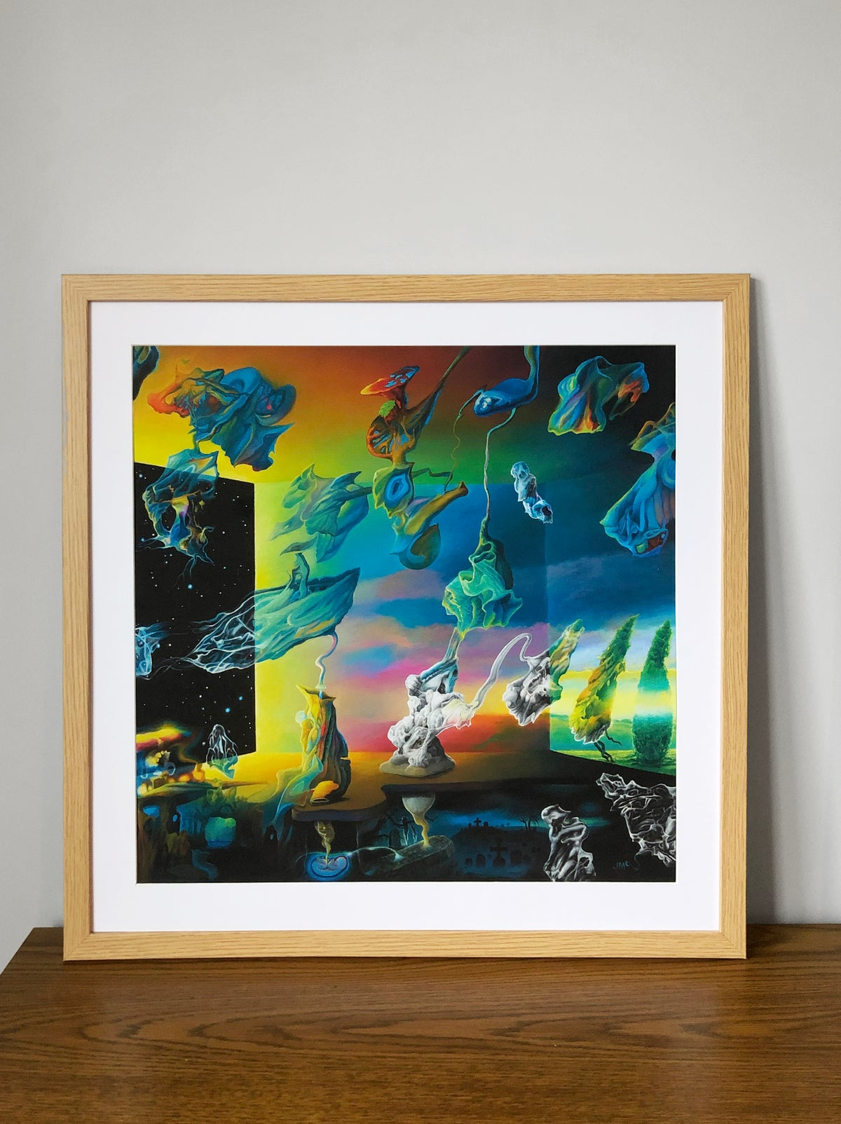 Image of 'Hope Rituals' High Quality Print