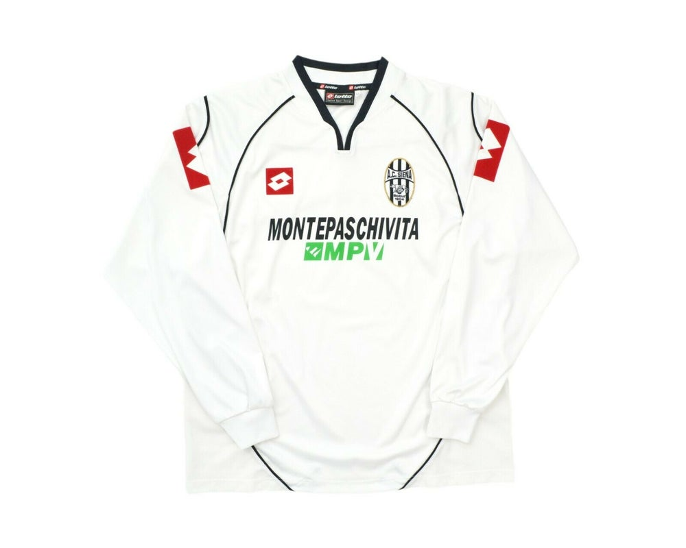 Image of 2003-04 Lotto AC Siena Away Long Sleeve Shirt M