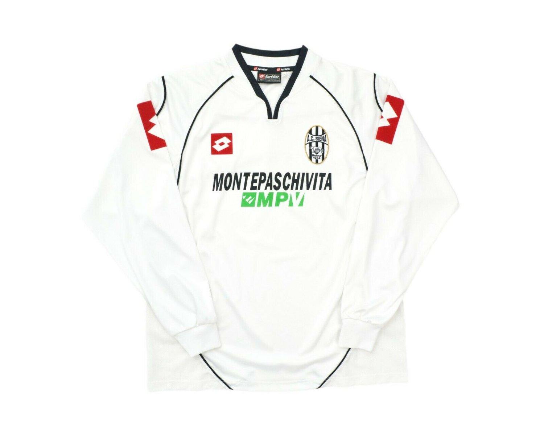 Image of 2003-04 Lotto AC Siena Away Long Sleeve Shirt M