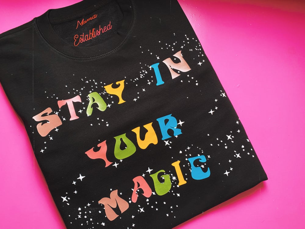 Image of Stay in your magic celestial sweat and tee
