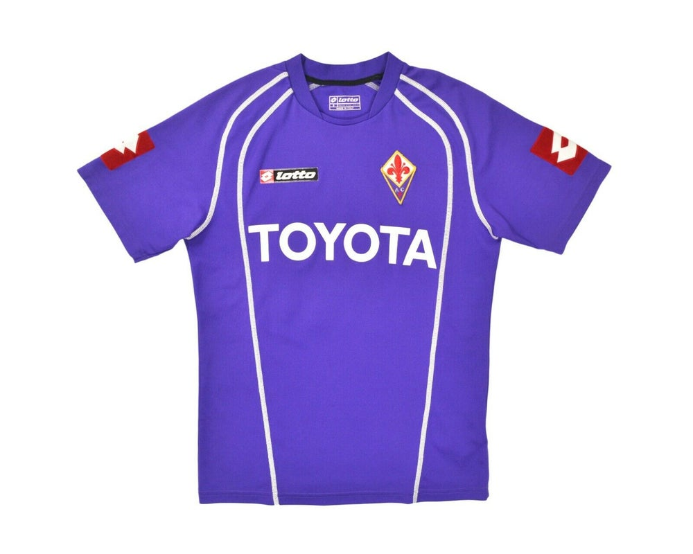 Image of 2006-07 Lotto Fiorentina Home Shirt '10 Fiore' S