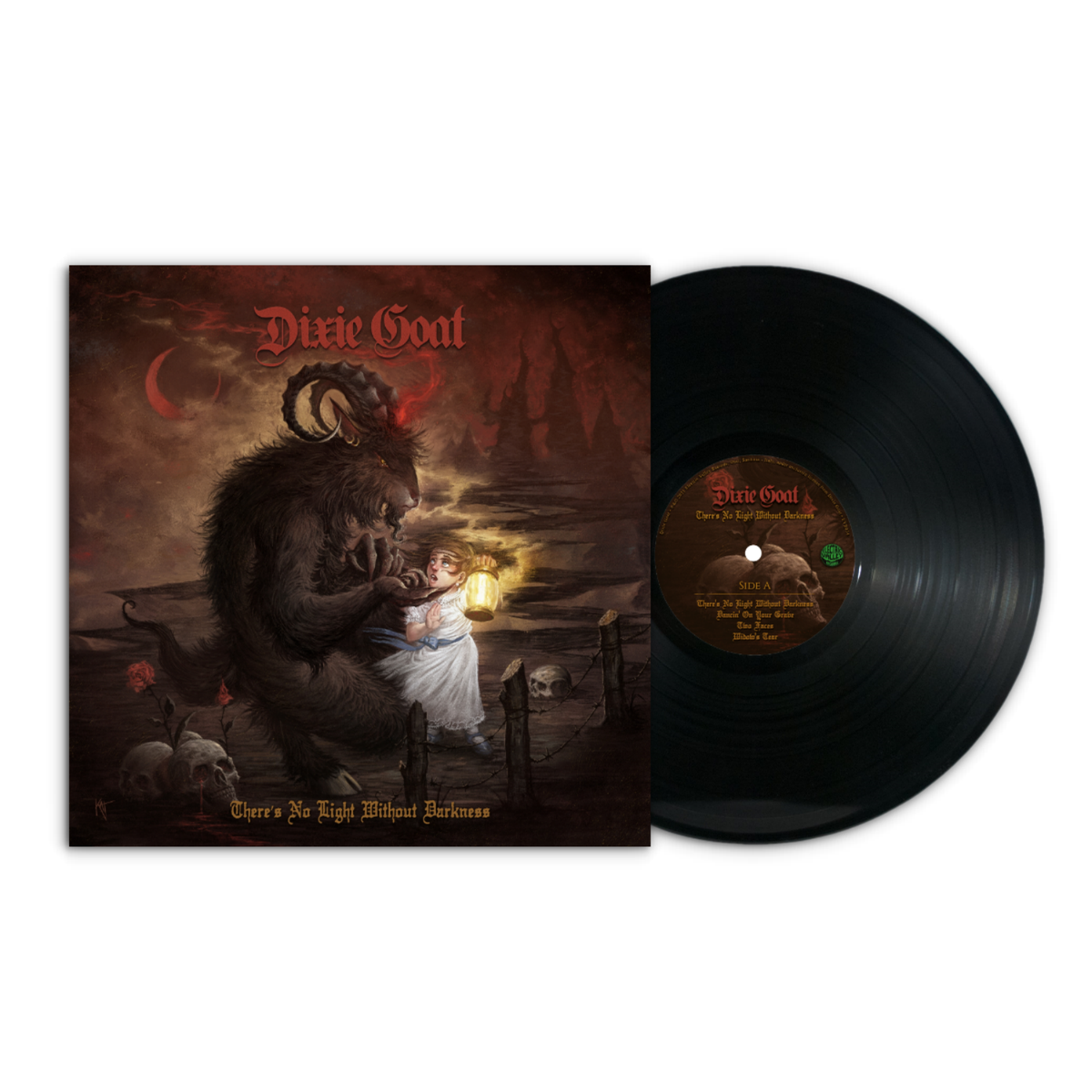 Image of Dixie Goat - There's No Light Without Darkness LTD Black Vinyl
