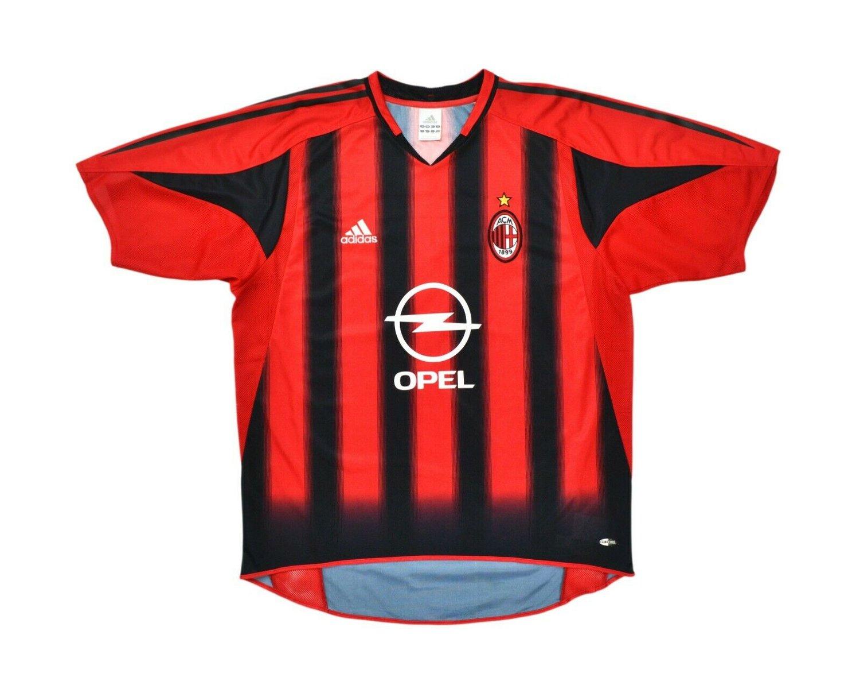 Image of 2004-05 Adidas AC Milan Home Shirt 'Shevchenko 7' L