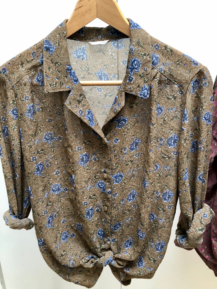 Image of Chemise col pyjama