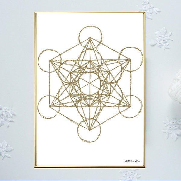 Image of Gold *Metatron*_A3