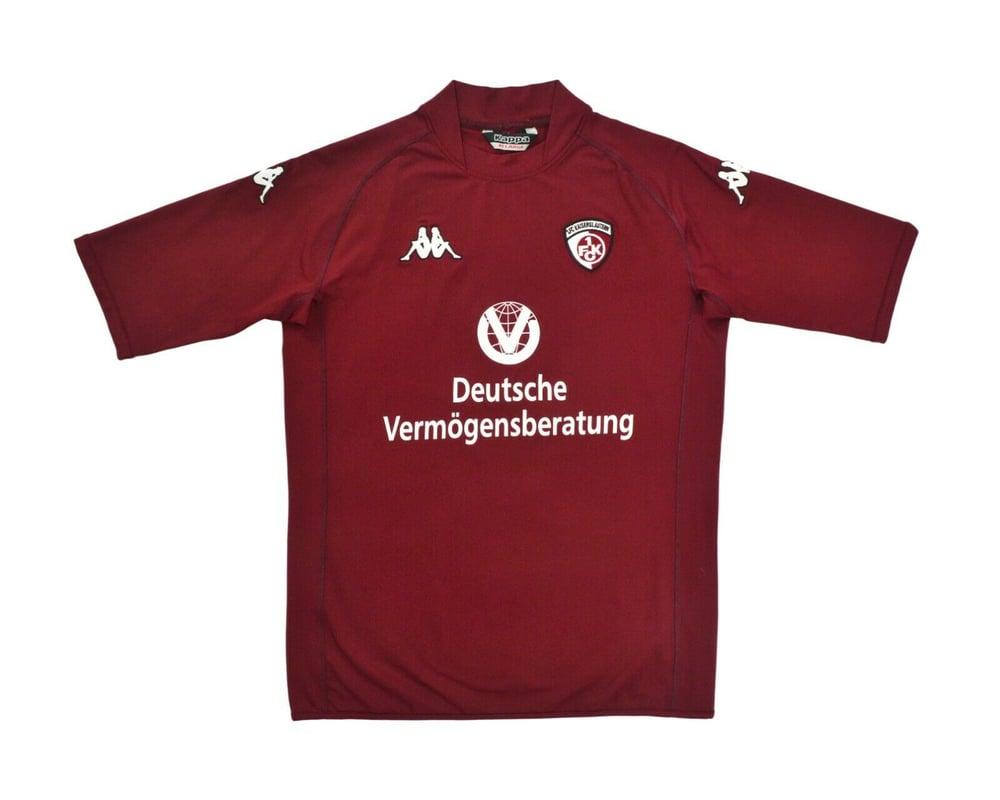 Image of 2003-04 Kappa Kaiserslautern Home Shirt XXL