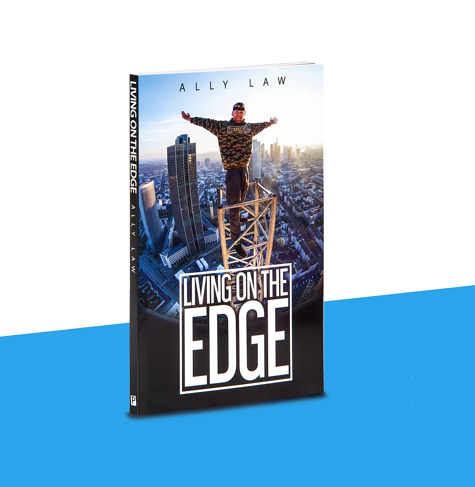 Image of 'Living on the edge' Book
