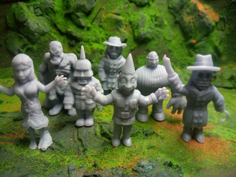 Image of Puppet MUSCLE - Puppet Master Inspired Minifigures