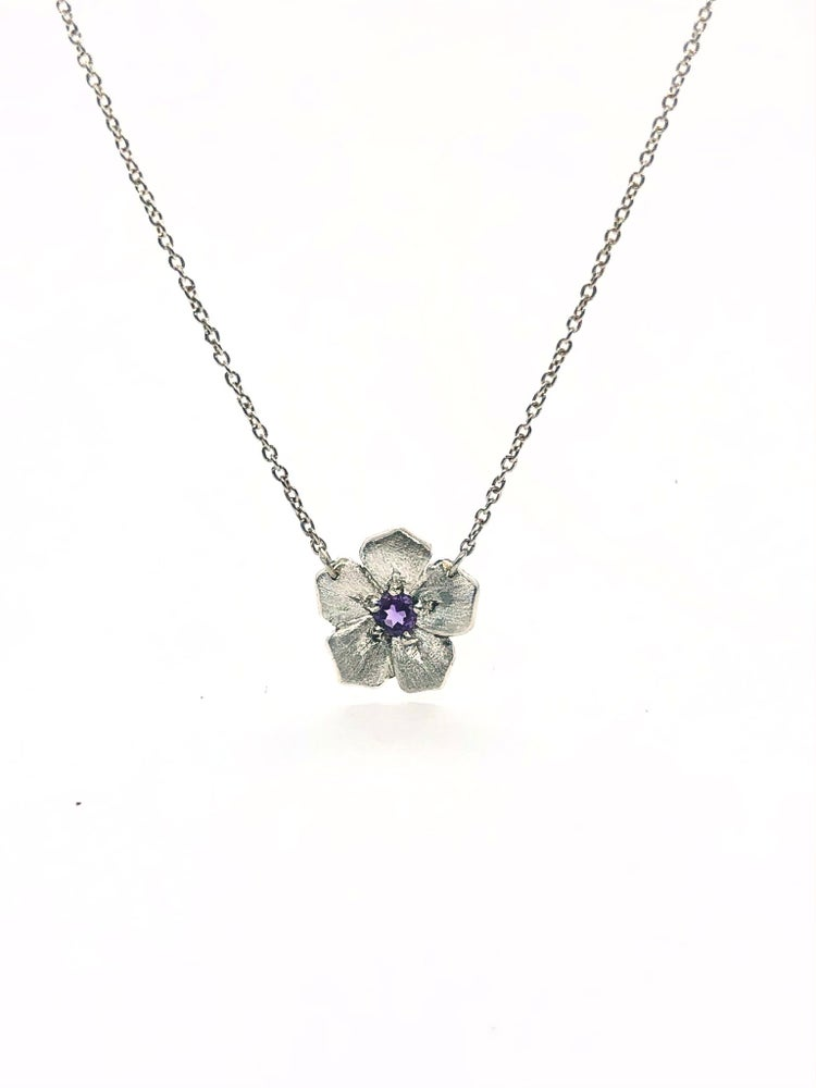Image of Phlox flower with Amethyst