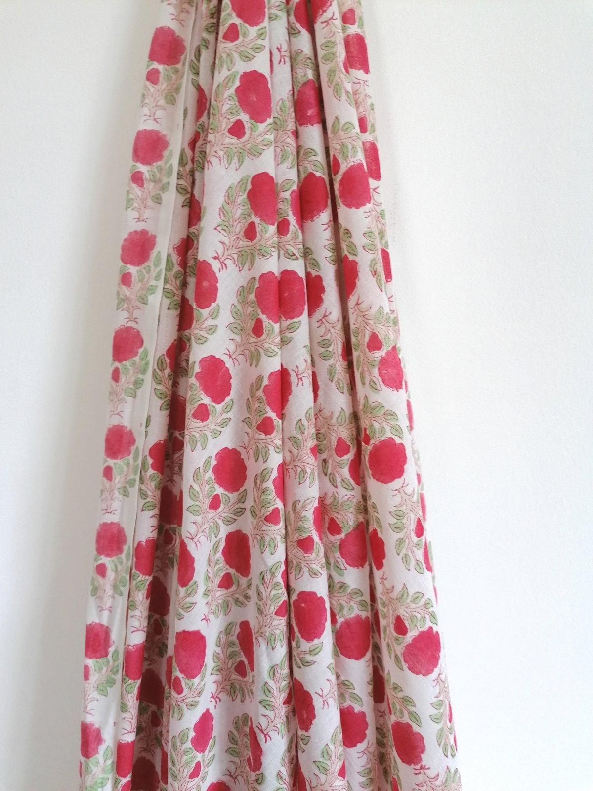 Image of Namasté fabric camélia