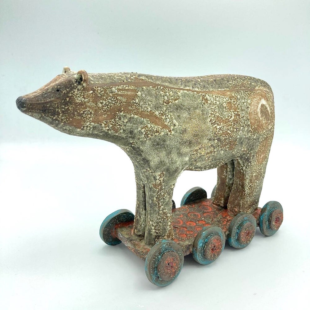 Image of Mother Bear on Wheels