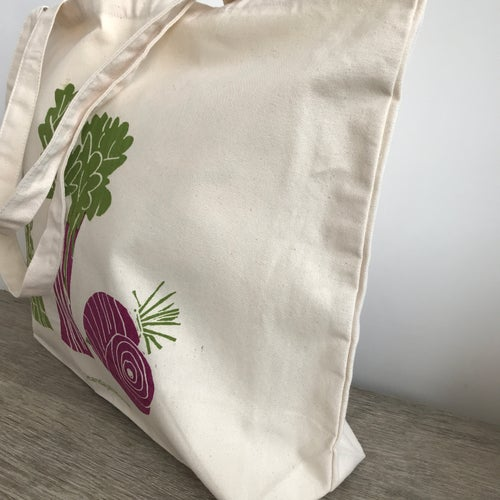 Image of Veggie shopper tote