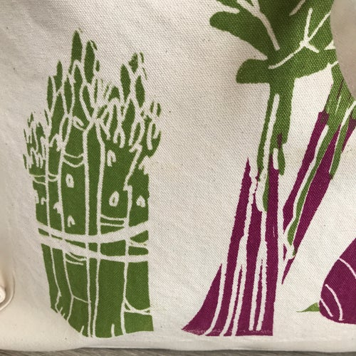 Image of Veggie print tote