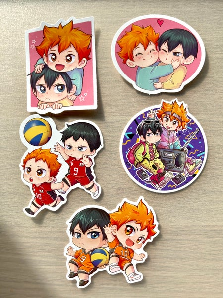 Image of Kagehina big stickers